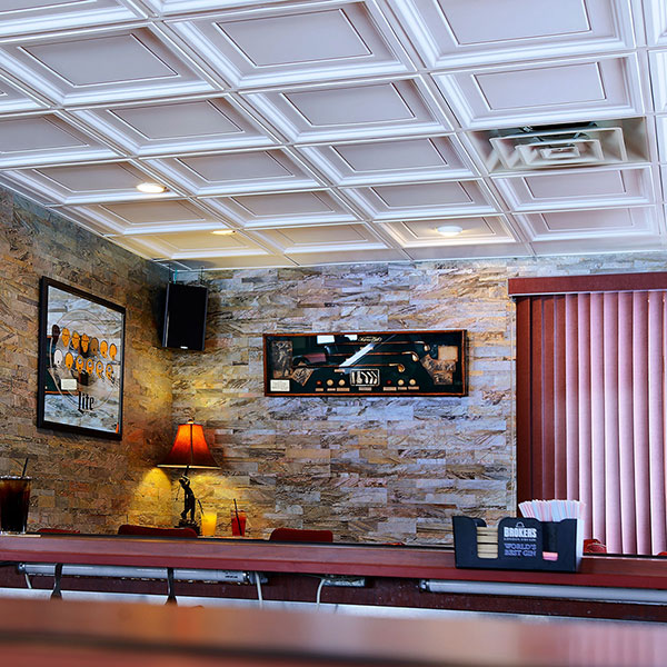 A classically appealing ceiling DIY ceiling project