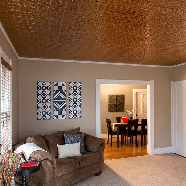 The details make the difference DIY ceiling project