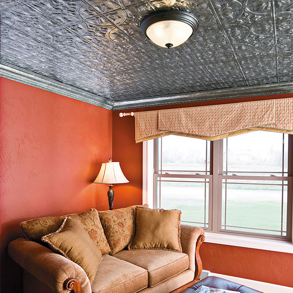 Surrounded in serenity DIY ceiling project
