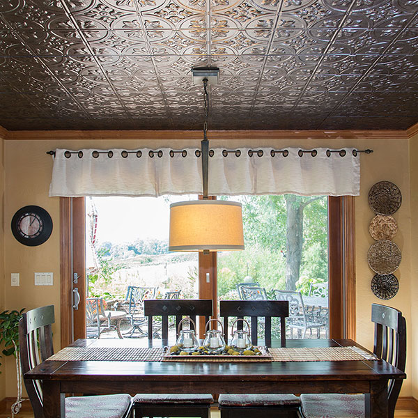 Positively delicious DIY ceiling project