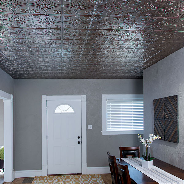 Refined and welcoming DIY ceiling project