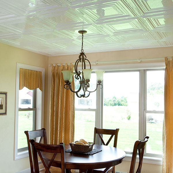 A delightful dining experience DIY ceiling project