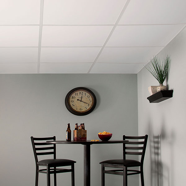 Clean and contemporary DIY ceiling project