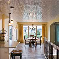 Eat-In With Elegant Ceiling Expanse