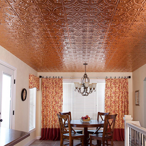An inspriational eat-in DIY ceiling project