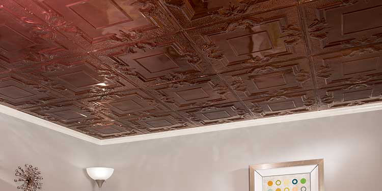 Real tin ceiling