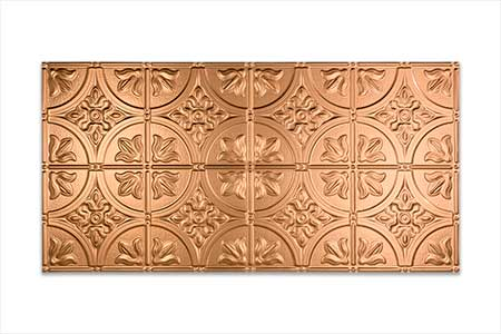 An Inspirational Eat-In-Fasade Traditional 2 in Polished Copper