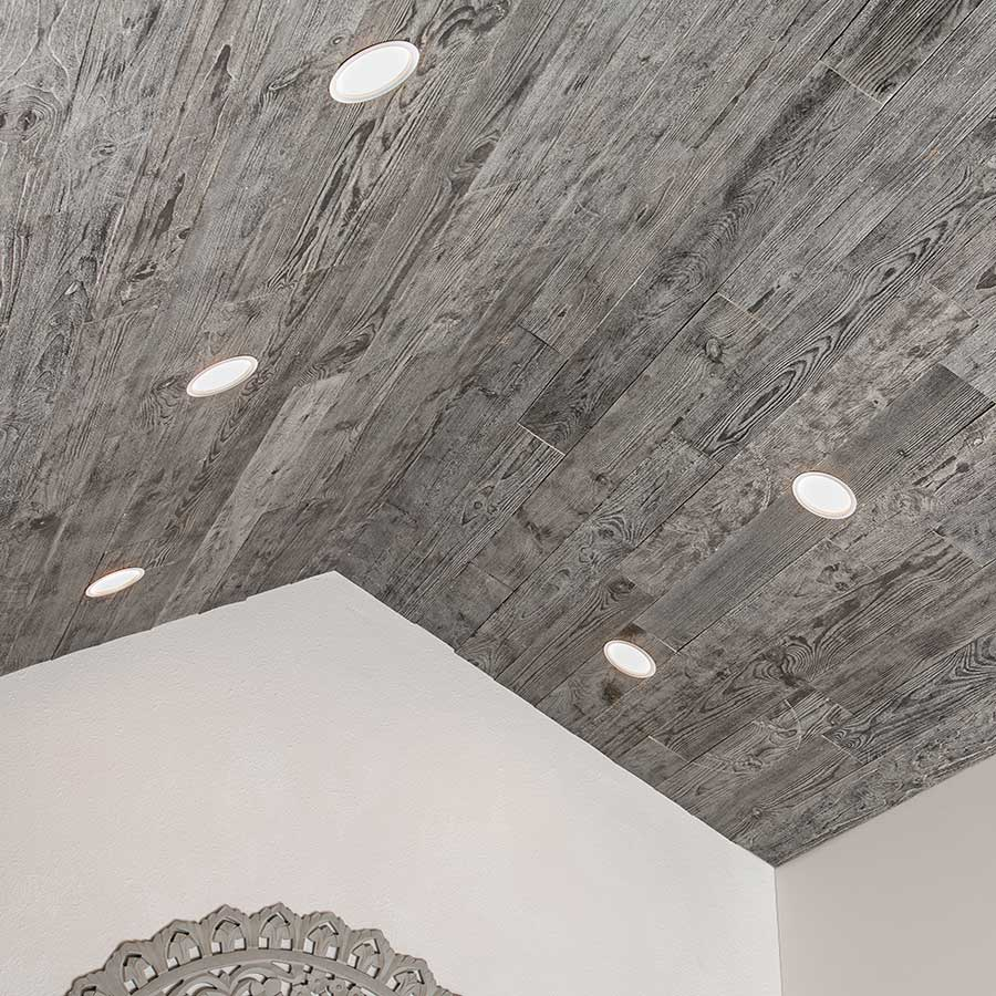 Natural Wood Adds Rustic Charm